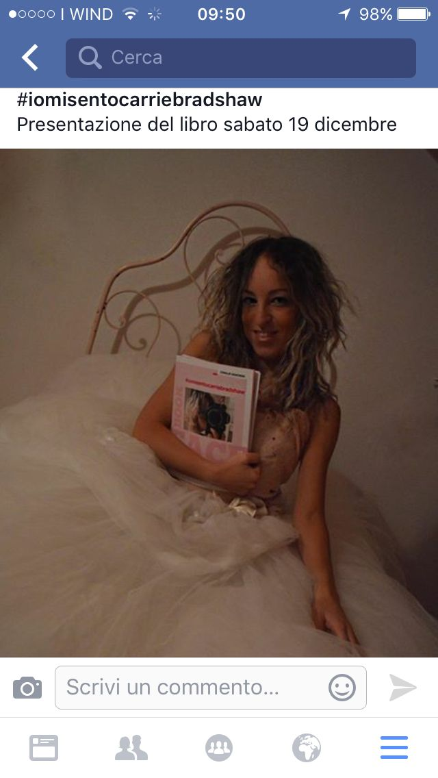 #iomisentocarriebradshaw Presentazione del mio libro sabato 19 dicembre Mantova