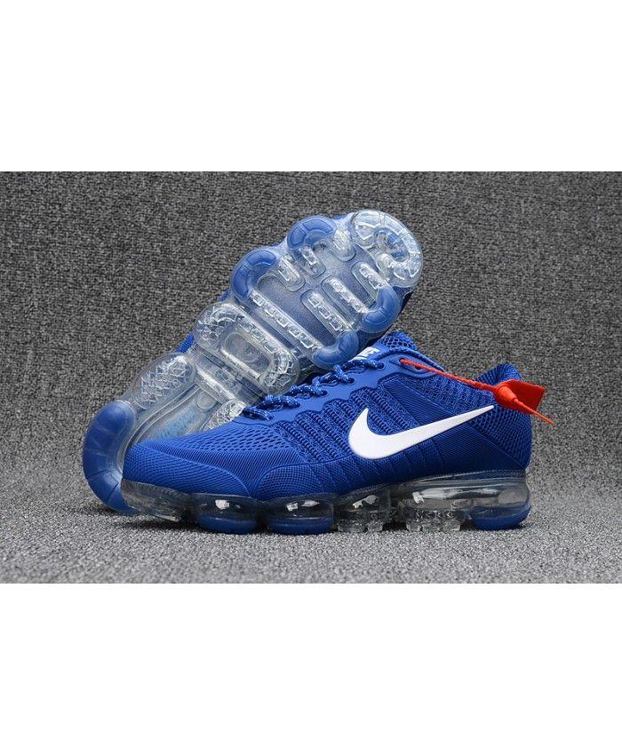 7760b3f516f Nike Air VaporMax KPU Mens Running Shoes Royal Blue White