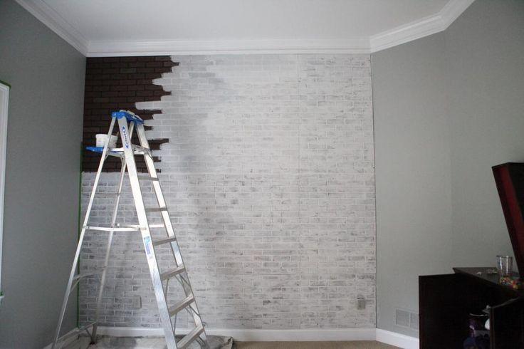 Wishy Washy Brick Wall Faux Brick Panels We And The Grey