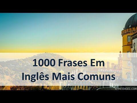 1000 Frases Em Inglês Mais Comuns