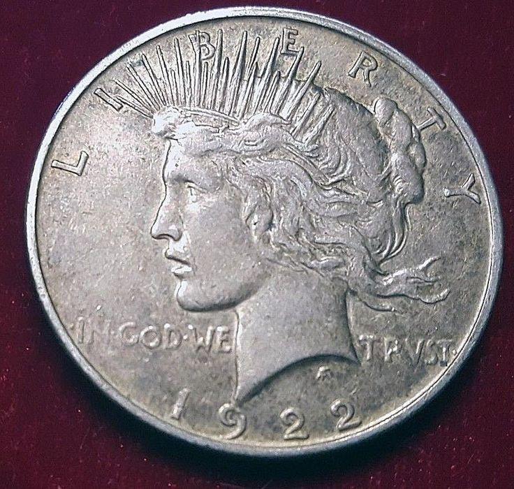 1922-D $1 Peace Dollar