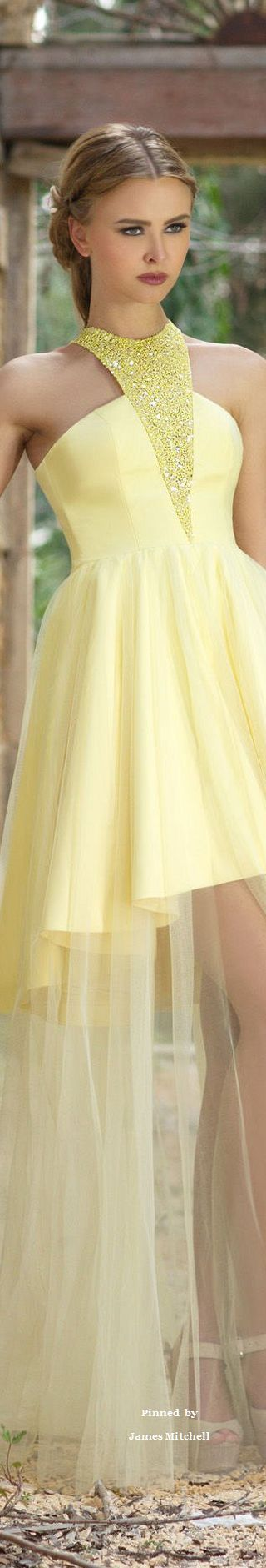 yellow little dress @roressclothes closet ideas #women fashion outfit #clothing style apparel