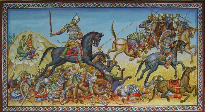 The Byzantine breast plate armors | Scholae Palatinae