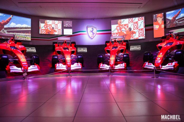 Sala Victorias museo Ferrari Museos del norte de Italia Ferrari y Lamborghini by machbel 2