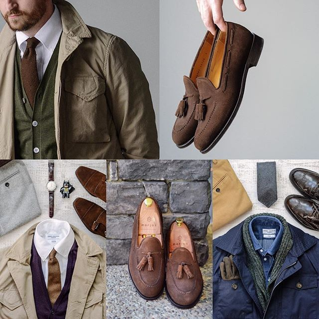 Following @afterthesuit and posting a top 5 this month. Flat lays and #burzanhands always seem to be fan favorites. Im glad you guys are liking those @morjasshoes loafers because once this snow melts they are going to be on the feed a lot. A solid variety of items so Ill tag everything on the pic. . . . #morjas #brunellocucinelli #spierandmackay #orientwatch #berwick1707 #drakeslondon #rakish #rakishgent #gentlemenstyle #classicmenswear #stylishmen #menstailoring #stylishgent #sartorial…