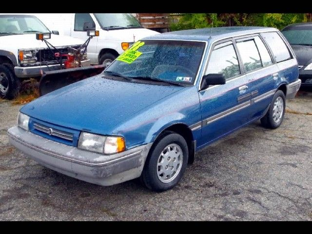 Before the minivan and then the SUV, the family vehicle du jour was the station wagon. '89 Mercury Tracer.