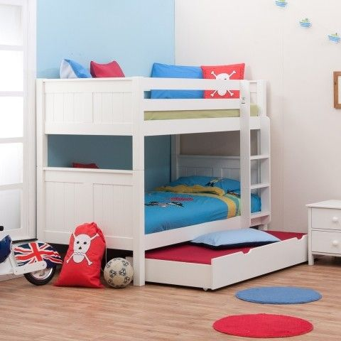 Bed for the girls room. Stompa detachable Multi bunk bed with trundle