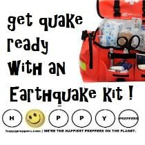 There was an earthquake in Montana? Yes! Western Montana got a jolt in the wee hours of July 6 when a 5.8-magnitude quake rocked the area. Everyone lives in an earthquake zone. Isn't it time to GET READY WITH AN EARTHQUAKE KIT?: http://happypreppers.com/quake.html