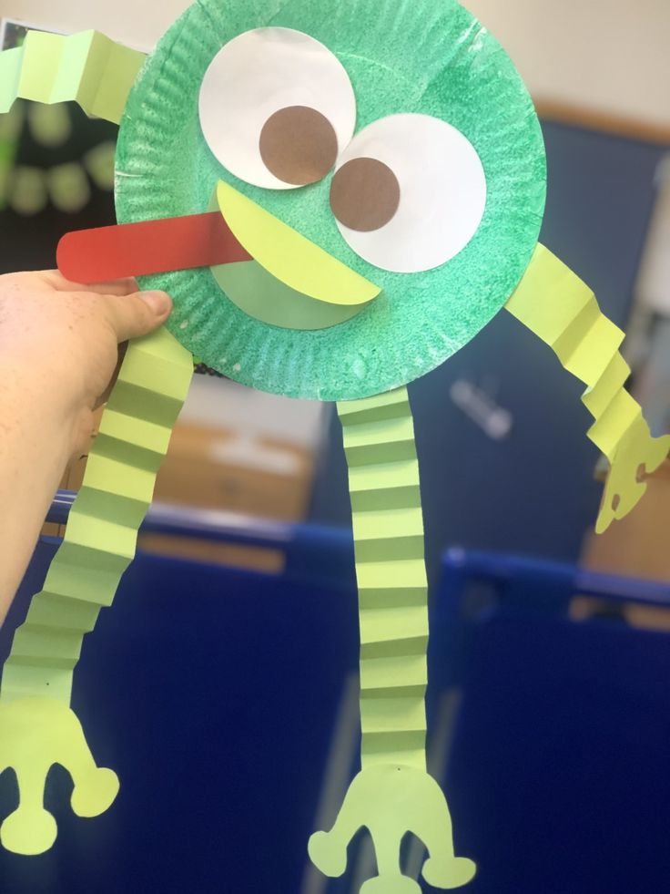 Color Green Craft Green Frog Preschool Crafts Daycare Crafts Toddler Crafts Color green crafts preschool