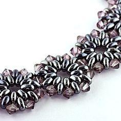 Super Duo Patterns Free   twin beads & swarovski bicones