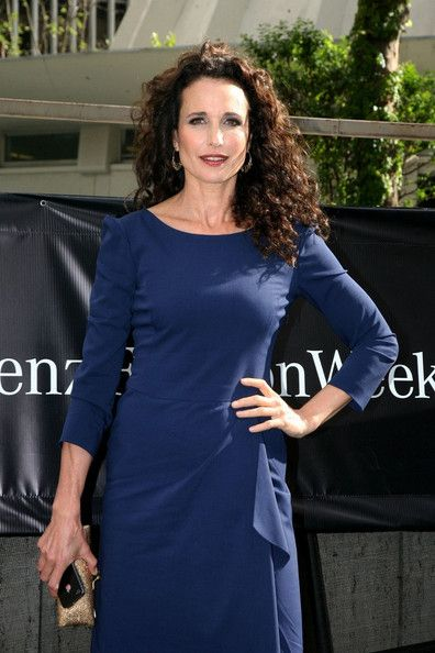 Urbane Andie MacDowell...  Fantastic...   A series of billboards in Times Square and national television commercials for Calvin Klein drew attention to her and led to her 1984 film debut in Greystoke: The Legend of Tarzan, Lord of the Apes, a role in which her lines were dubbed by Glenn Close because her southern accent was too pronounced for her to play the role of an Englishwoman.