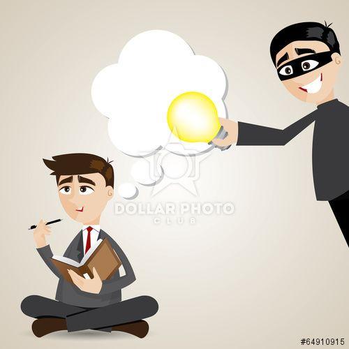 https://cz.dollarphotoclub.com/stock-photo/cartoon businessman with stolen idea/64910915 Dollar Photo Club miliony kvalitních obrázků za 1$ za každý