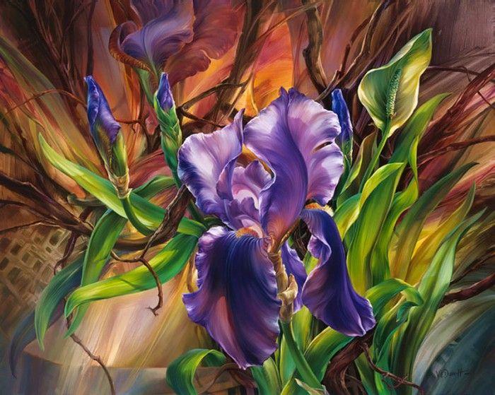 работы художника Vie Dunn-Harr - 06