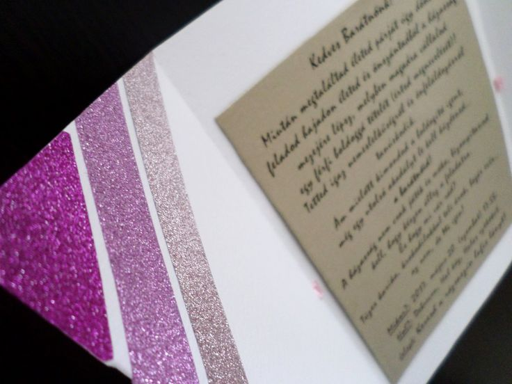 Kézzel készített lánybúcsú meghívó-Koktél pohár stílus_2017/ DIY, invitation, card, pink, white, gold, bachelorette, bride, the day, wedding, meghívó, lánybúcsú, menyasszony, esküvő