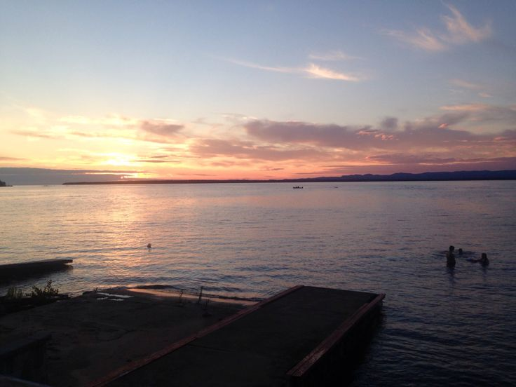 Yet another beautiful sunset on Lake Superior at Haviland Bay