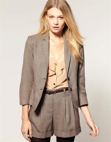 Женский твидовый пиджак купить