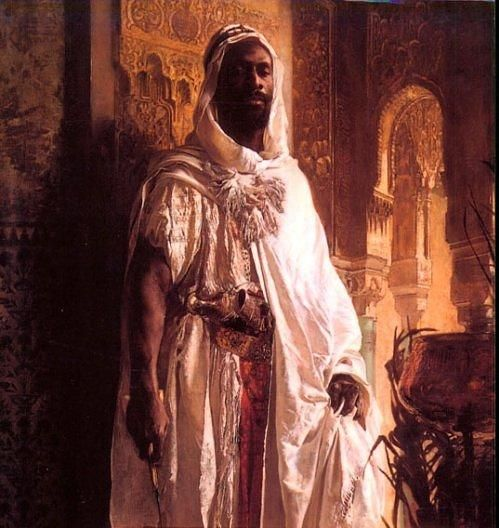 711 to 1492 Spain, as it is now known, was ruled by Black African Moors.    The etymology of the word 'Moor' is black, or dark. Moors were a mix of Black African and Arabic Muslims who ruled Spain and the rest of the Iberian peninsula between 711 and 1492. - http://kemetically-ankhtified.tumblr.com/post/17664760197