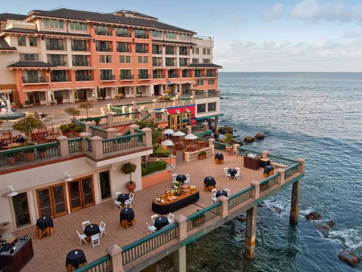 Monterey | Monterey Plaza Hotel & Spa: California Hotel : Condé Nast Traveler - lovely hotel!