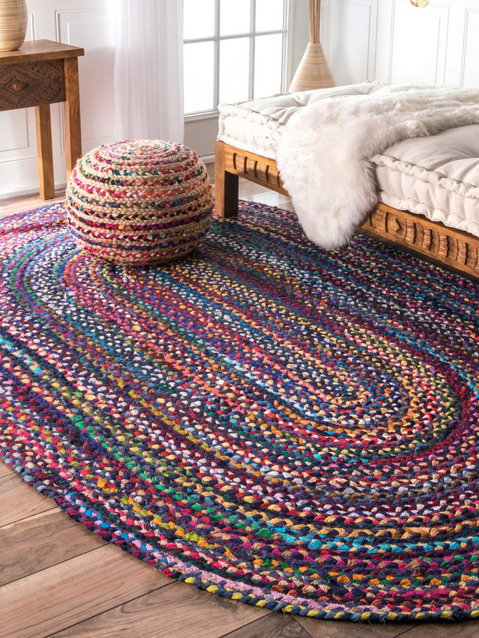 Nuloom Tonya Oval Cotton Rug Tapetes Coloridos Tapetes Decoracao