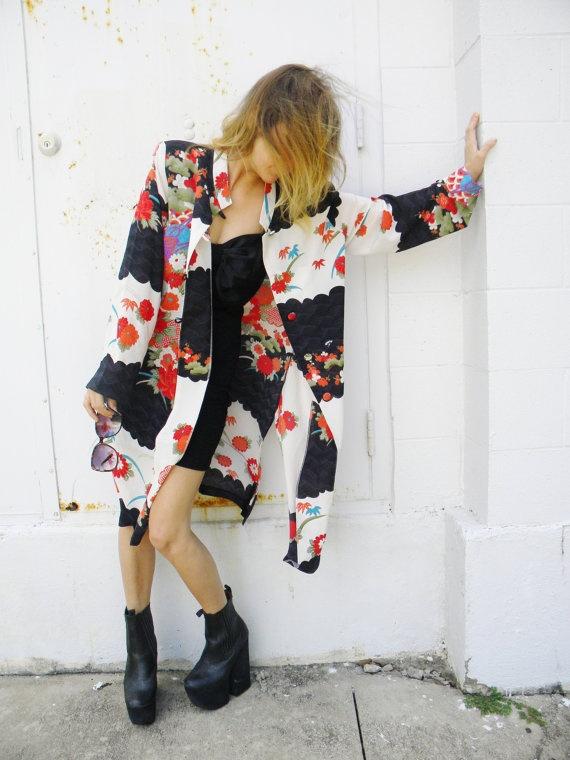 asian DUSTER kimono