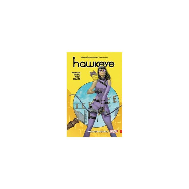 Hawkeye 1 : Anchor Points (Paperback) (Kelly Thompson)