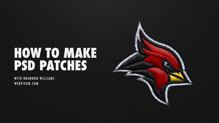 How To Make Embroidered Patches Photoshop Tutorial Webpixum Sports Mockups Embroidery Logo Sports Design Patch Logo
