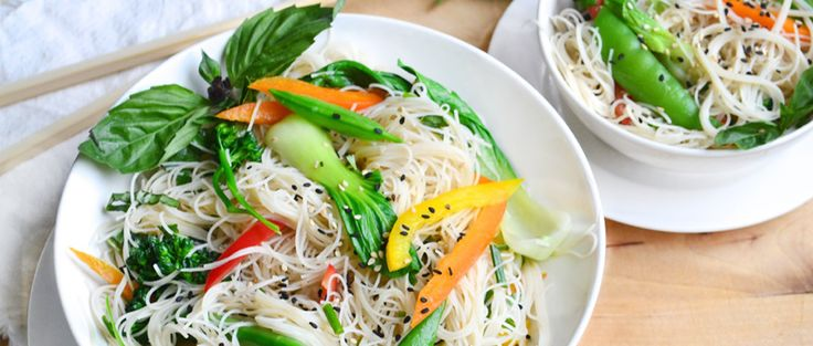 Tired of the same old salad and pasta dishes? Try this colorful Thai rice noodle salad recipe instead, brimming with vibrant flavors.