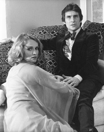 Jeremy Brett and Marie-Christine Barrault in The Medusa Touch (1978). He's SOOOOOOO adorable.