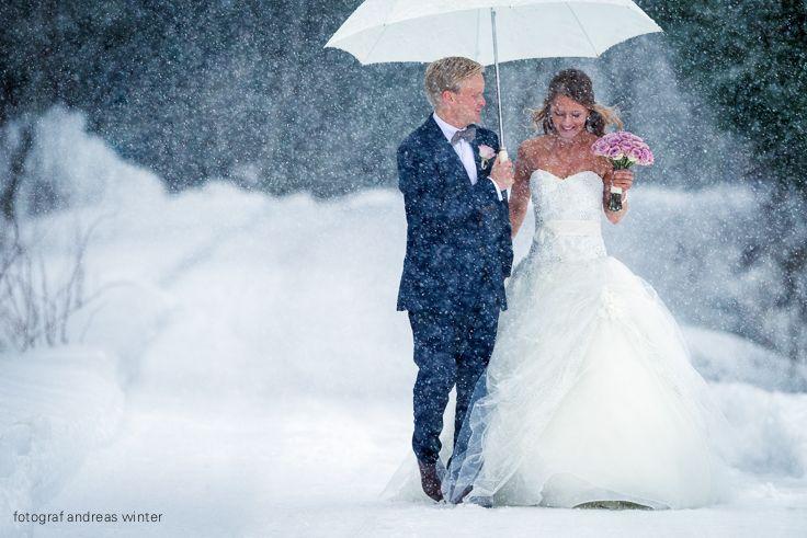 Winter wedding in Norway