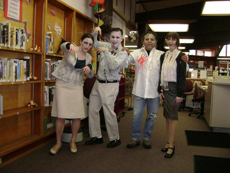 zombie librarians dragonfly designs by alisa zombie partylibrarians zombieshalloween costumes - Naughty Librarian Halloween Costume