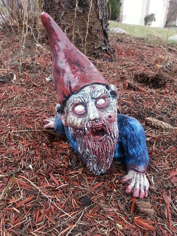 Gnombies Garden: 1000+ Images About Zombie Gnomes On Pinterest