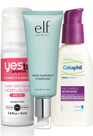 Whether your skin is acne-prone or you're looking for one with SPF (go you!), here are our top picks for the best drugstore moisturizers.