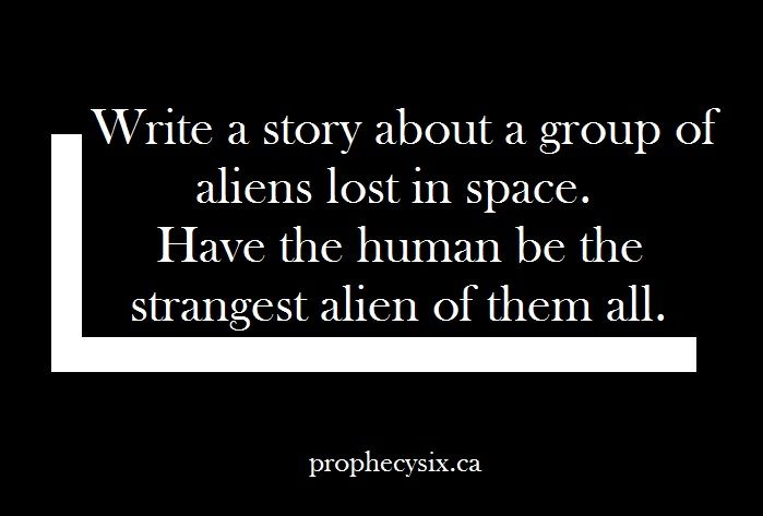 Writing Prompts // Ideas for Sci-fi story // Sci-fi prompt // writing ideas // writing help