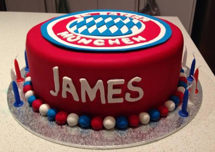 Bayern Munich cake