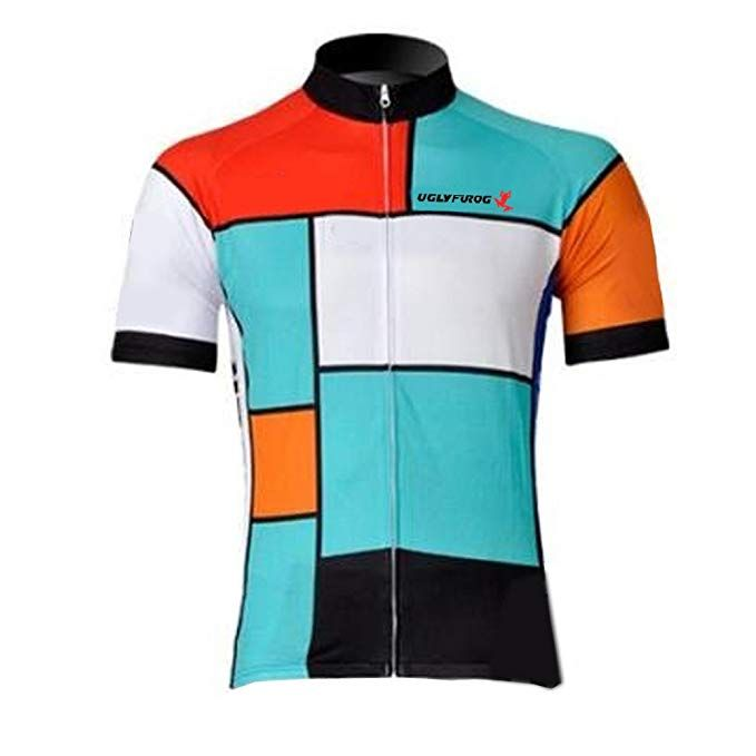 Amazon.com   Uglyfrog Sportern Men s Outdoor Sports Shirt Short Sleeve  Cycling Jersey Cycling Clothing Bike Wear   Sports   Outdoors 01d6d1c62
