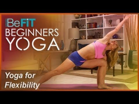 BeFiT Beginners Yoga: Beginners Yoga Stretching & Flexibility Workout | Level 1- Kino MacGregor - YouTube