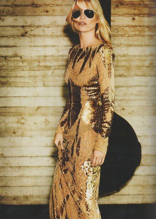 Kate Moss & George Michael | Mario Testino | Vogue Paris October 2012