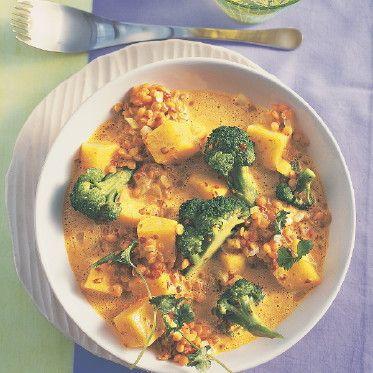 Kartoffel-Linsen-Curry Rezept | Küchengötter