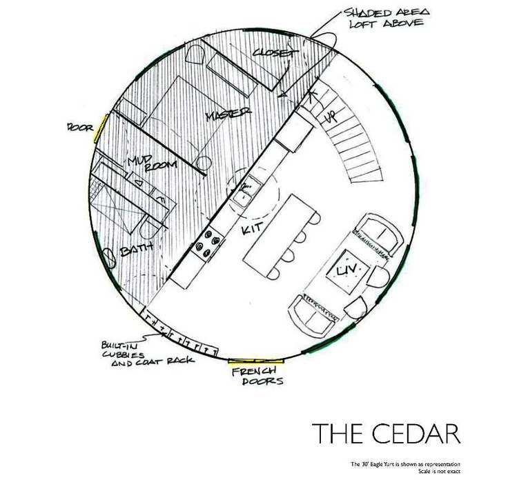 Yurt Floor Plans Yurt Inspiration Pinterest The Loft