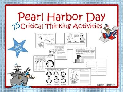 Pearl Harbor Day Activities 25 Ccss Activities From