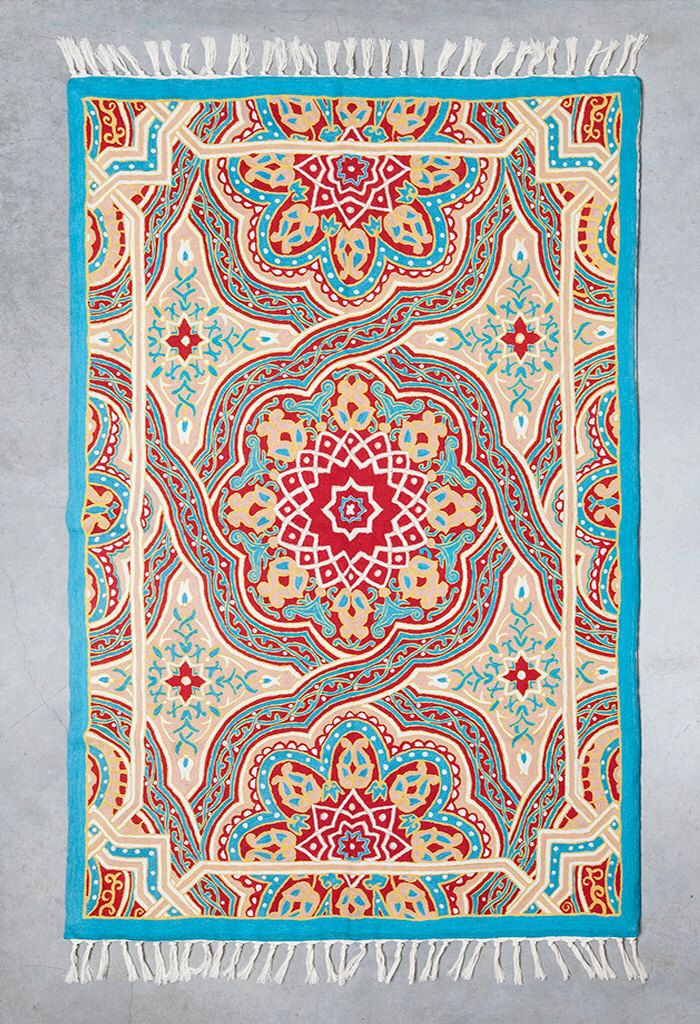 Mandala rug, 5x8 area rug, turquoise area rug,area rug for sale,affordable area rugs,oriental rugs for sale,room size rugs, FREE SHIPPING! by Carpetism on Etsy https://www.etsy.com/listing/245016382/mandala-rug-5x8-area-rug-turquoise-area