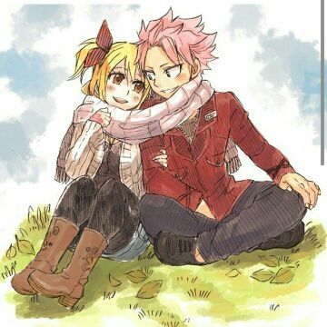 YOURE KILLIN ME WITH THE NALU FANART MY PALS
