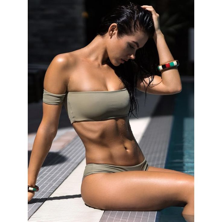 Nirvanic Swim 'Calista Off the Shoulder Bikini Top' | Shop Splash www.shopsplash.com