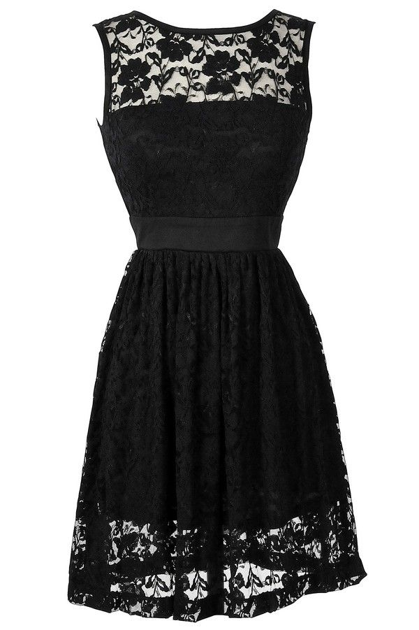 1000  ideas about Pretty Black Dresses on Pinterest | Casual black ...