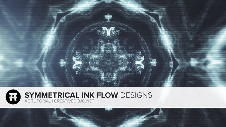 After Effects: Symmetrical Ink Flow Designs (Free Stock Footage by RodyPolis) - YouTube