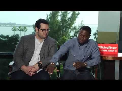 [Video] Kevin Hart, Josh Gad Talk 'The Wedding Ringer'   Miami Now TV
