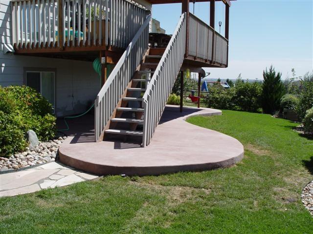 under deck patio - Under Deck Patio Ideas
