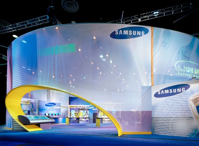 Exhibition Stand Tension Fabric : Moss exhibits premier tradeshow featuring tension