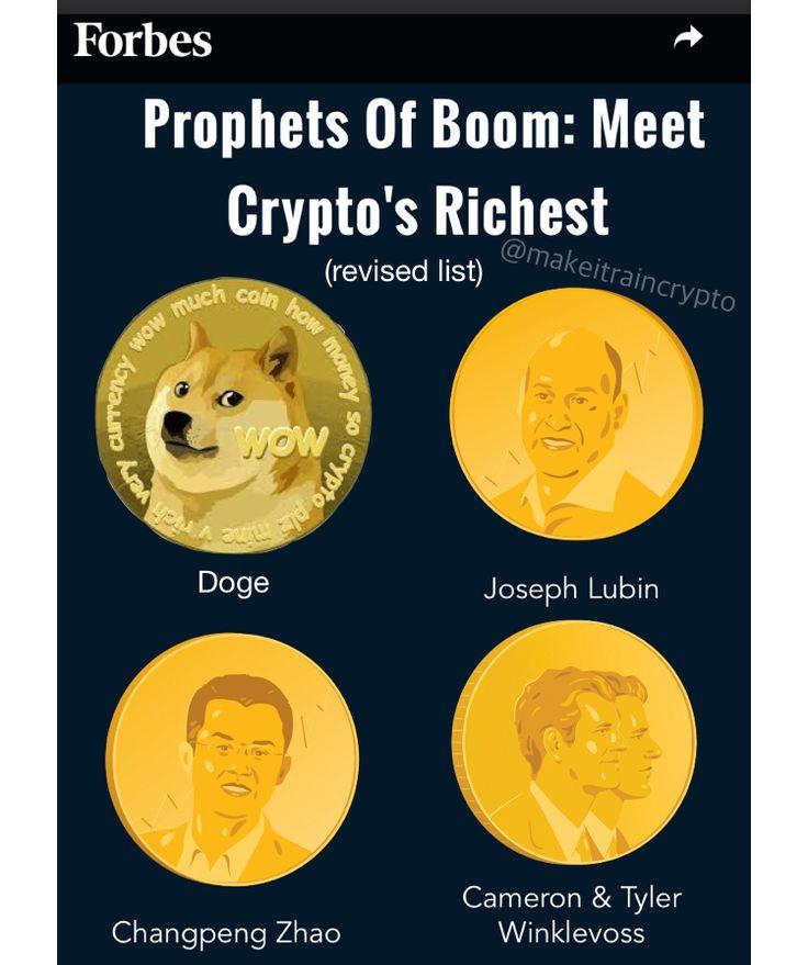 Pin by make it rain crypto on Dogecoin Memes   Joseph ...