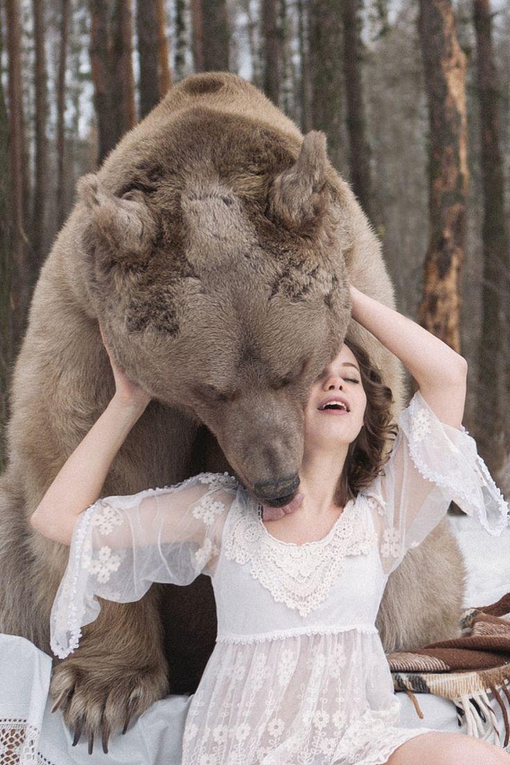 Las modelos rusas no sólo son guapas, sino también valientes. Foto de Olga Barantseva en 500px